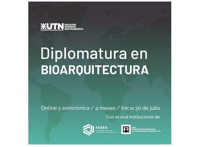 Están abiertas las inscripciones para la Diplomatura en Bioarquitectura, online y asincrónica
