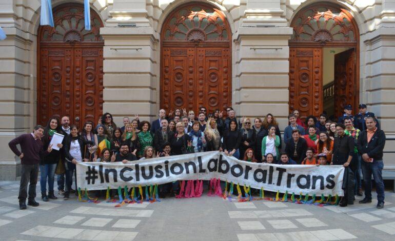 Exigen a Diputados que traten la Ley de cupo e inclusión laboral Travesti