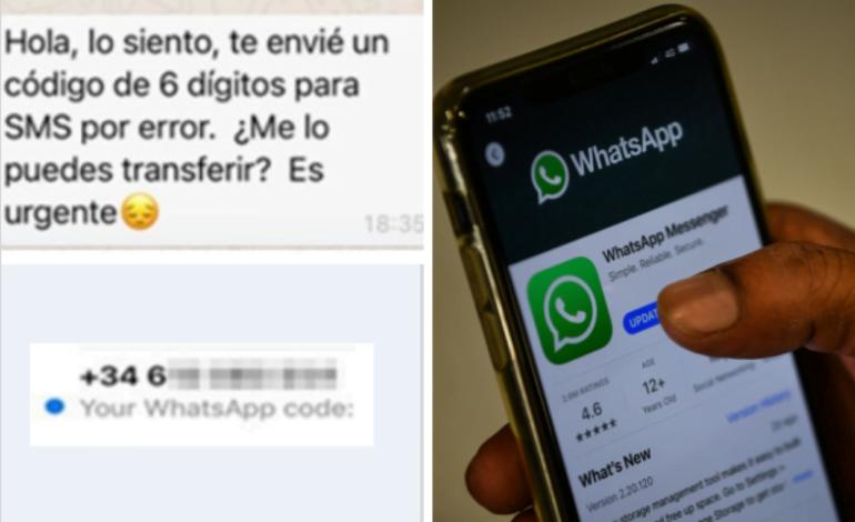Sanfrancisqueño víctima de estafa por Whatsapp