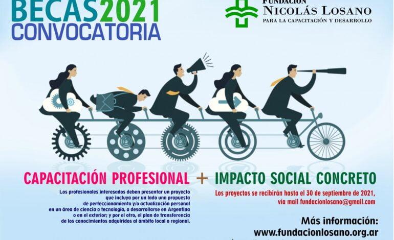 Convocatoria de la Fundación Nicolás Losano para su programa anual de becas