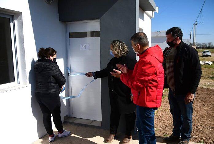 Morteros: entregaron otras dos viviendas del Plan 114