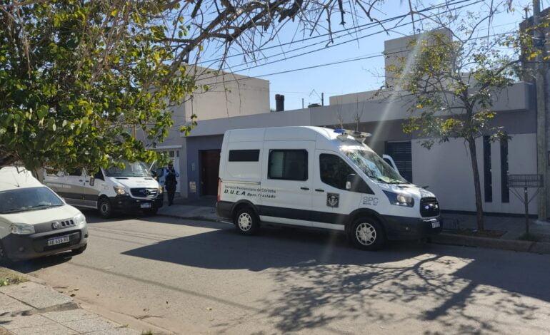 Móviles del Servicio Penitenciario en Barrio Catedral