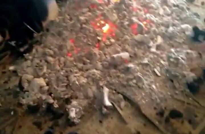 Incendio en el club Granaderos de Las Varas
