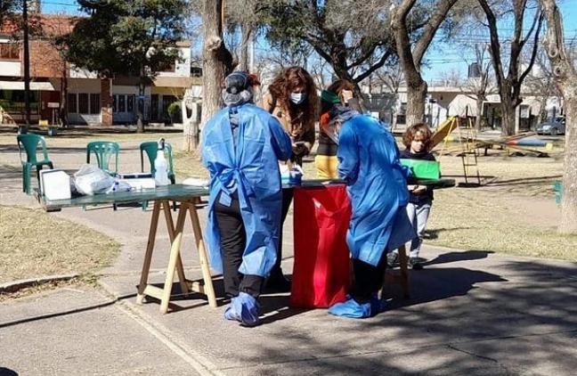 Se realizó un nuevo operativo identificar en Barrio Jardín