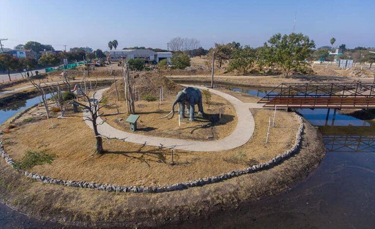La Para inaugura el Parque Pleistocénico de Ansenuza