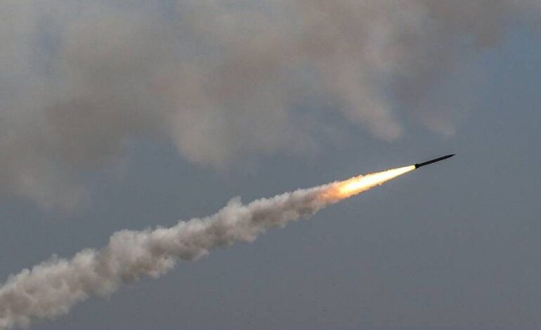 Israel bombardeó Líbano en respuesta al lanzamiento de cohetes