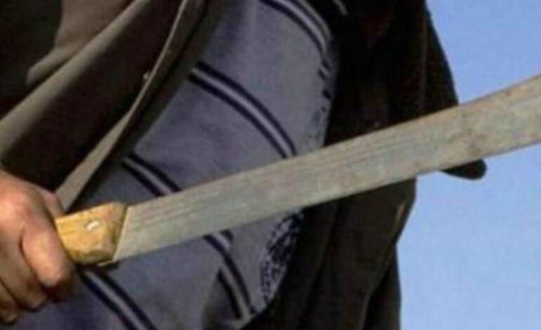 Allanaron el domicilio de un joven que días atrás agredió con un machete a otro