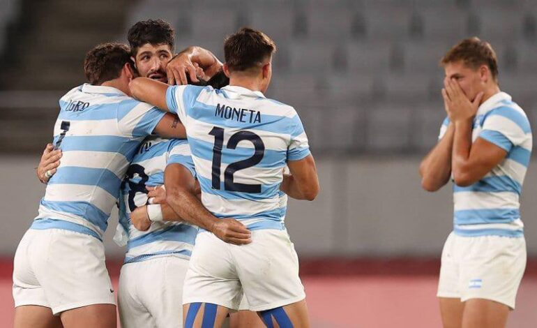 Gran victoria de Los Pumas ante Sudáfrica: pasaron a semifinales en Tokio