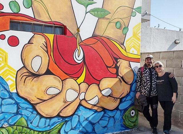 Devoto: un mural para el merendero