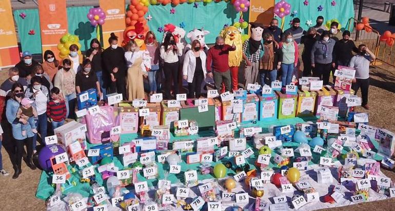 Más de 150 premios se entregaron en el Mes de las Infancias en Arroyito