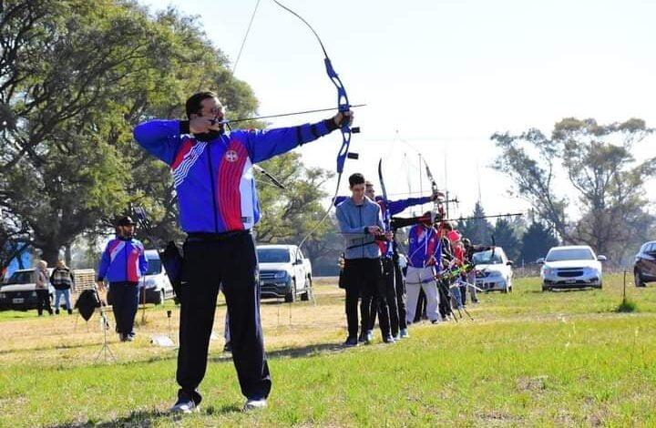 Se llevó a cabo una jornada recreativa de tiro con arco