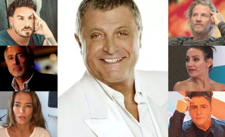 Los famosos despidieron a Gino Renni a través de las redes: sus emotivos mensajes