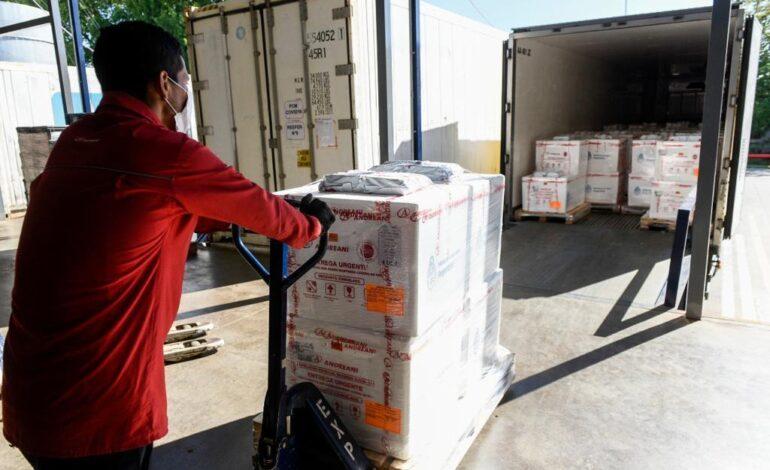 El Gobierno inicia la distribución de más de 1,4 millones de vacunas