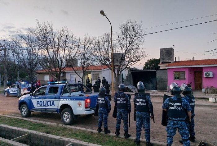 Varios allanamientos, un detenido y secuestro de droga en Balnearia