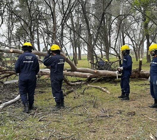 Bomberos Voluntarios realizaron capacitación y mantenimiento