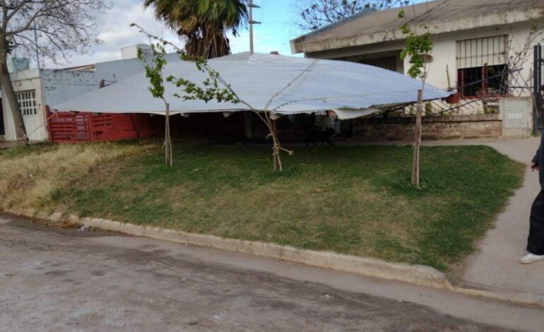 Ráfagas de viento de 60km/h provocaron daños en Las Varillas