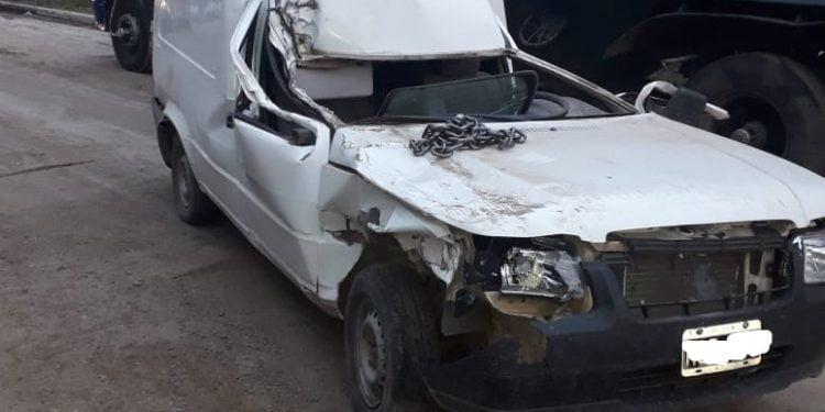 Accidentes de tránsito en Las Varillas y Sacanta con el saldo de dos heridos