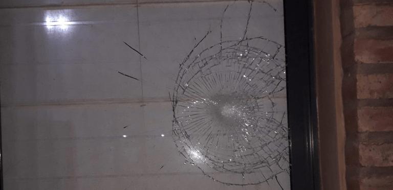 Actos de vandalismo en Morteros