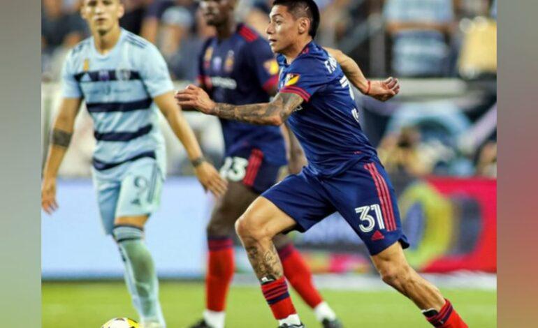 Navarro suma minutos en la MLS
