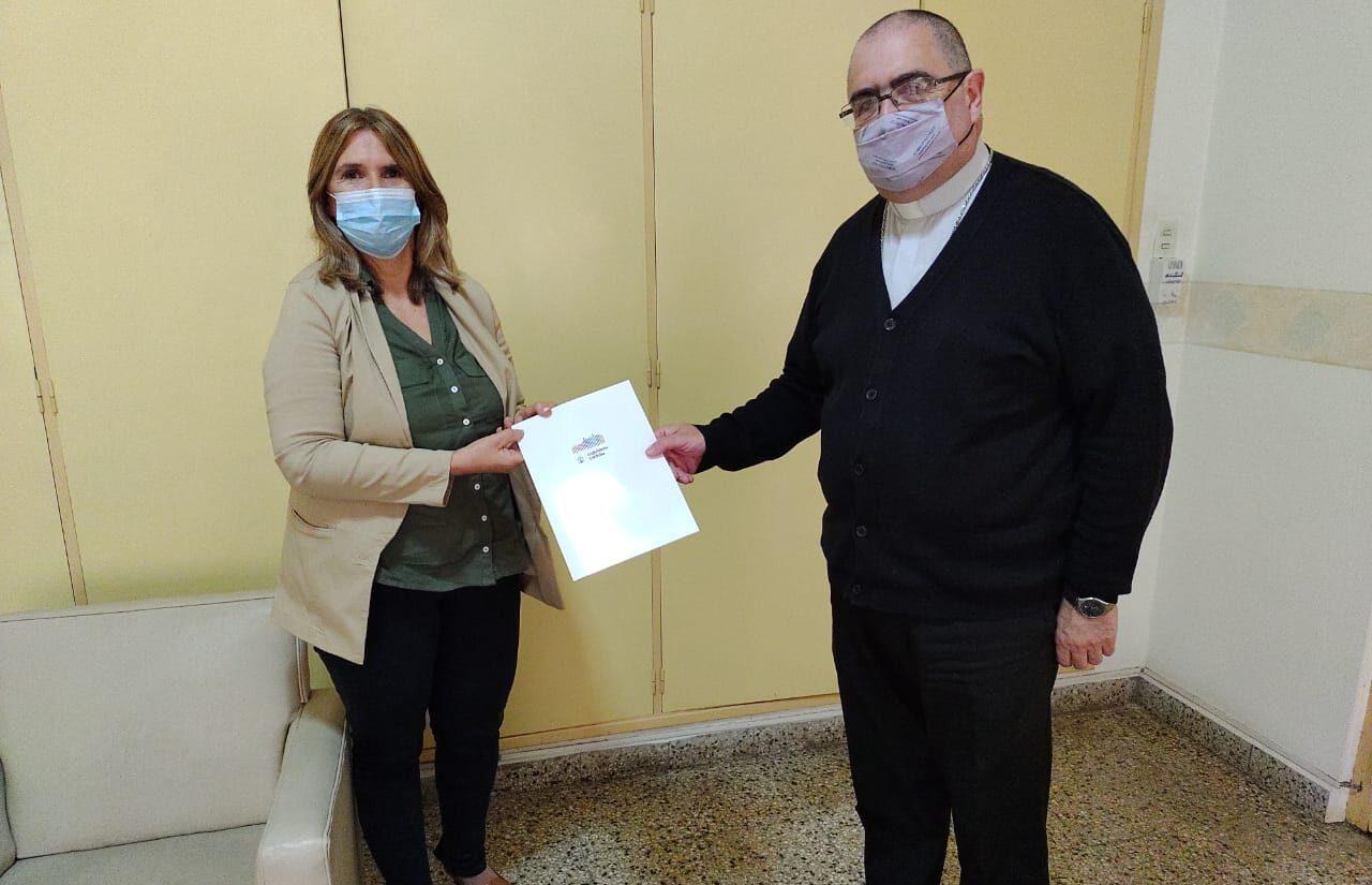 La Legisladora Alejandra Piasco visitó instituciones de la ciudad