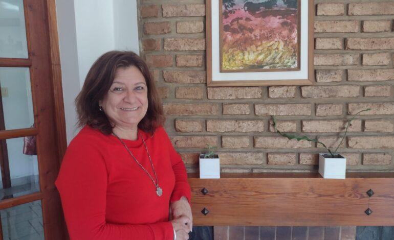 Sandra, una mujer con la docencia a flor de piel