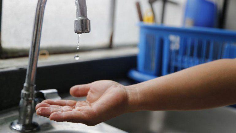 El miércoles habrá un corte de agua en barrio Jardín