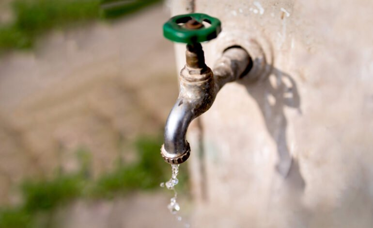 Corte de agua en distintos sectores de la ciudad