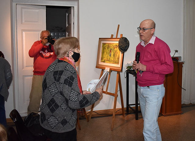 Homenajearon al artista plástico Alberto Magno Gastaldi en Devoto