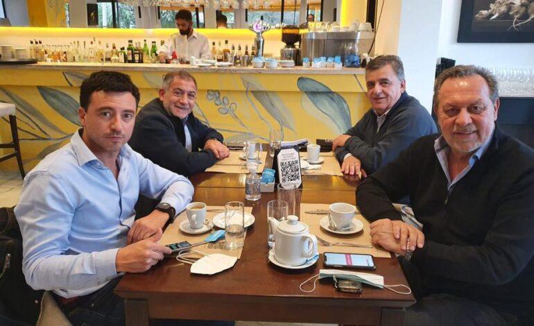 Juez, De Loredo, Negri y Santos se reunieron y garantizaron unidad tras las PASO