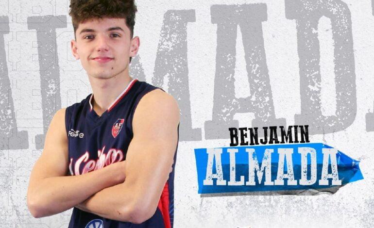 Benjamín Almada y su gran momento