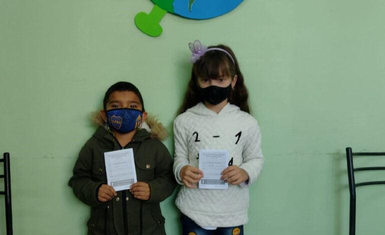Comenzó la vacunación para los más pequeños en Frontera