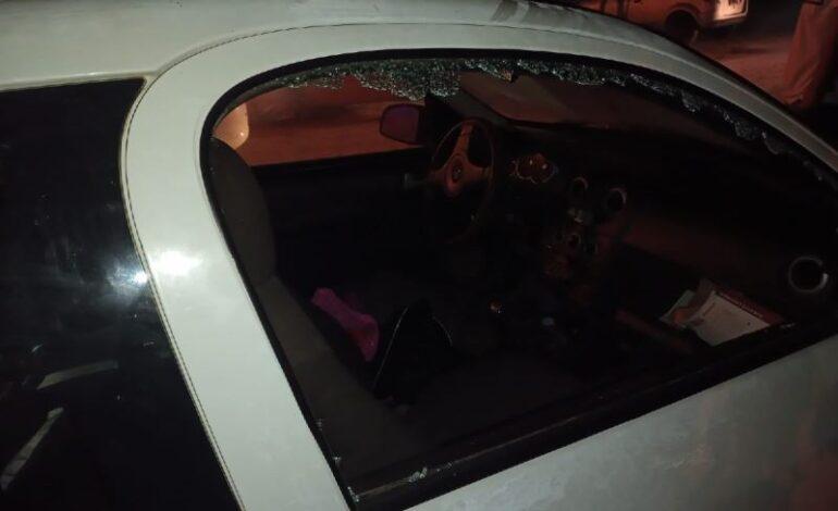 Rompieron cristales de cuatro autos en Morteros